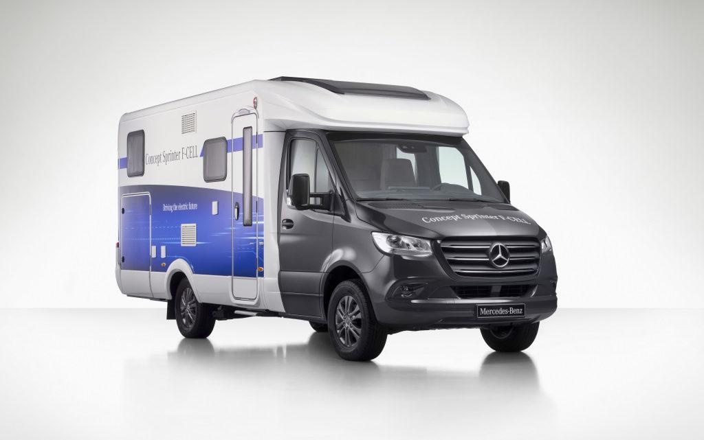 """Mercedes-Benz """"Concept Sprinter F-CELL"""" . Das Reisemobil der Zukunft – emissionsfrei und vernetzt"""