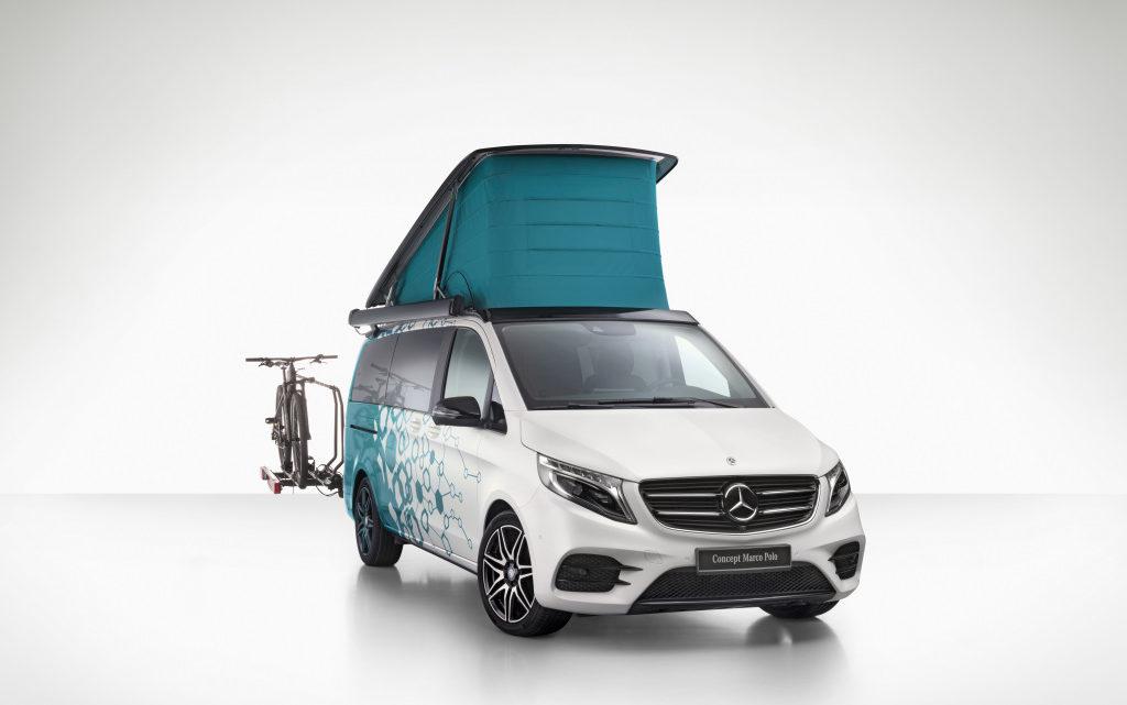 Mercedes-Benz Concept Marco Polo und F-Cell – Die Zukunft des Wohnmobiles?