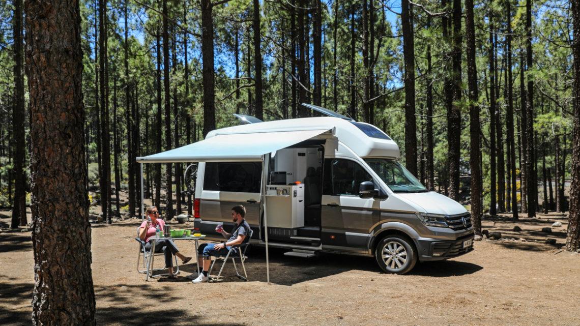 VW Grand California 600 – Erste Ausfahrt auf Gran Canaria