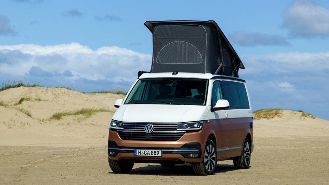 Neuer VW California 6.1 mit digitaler Steuerung der Camper-Funktionen